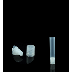 "19mm (3/4"") Slant Tip Tube with Square Cap"