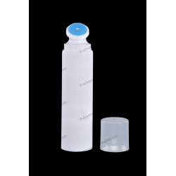 "40mm (1 9/16"") Plastic Round Tube with Brush Applicator for Cosmetics Packaging"