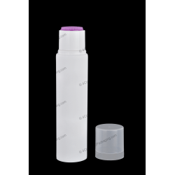 "50mm (2"") Plastic Round Tube with TPE Brush for Cosmetics Packaging"