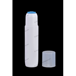 120ml PP Bottle with Foam Brush for Cosmetics Packaging