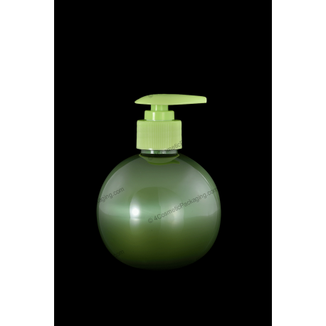 100ml Plastic PET Bottle with Lotion Pump for Cosmetics Packaging