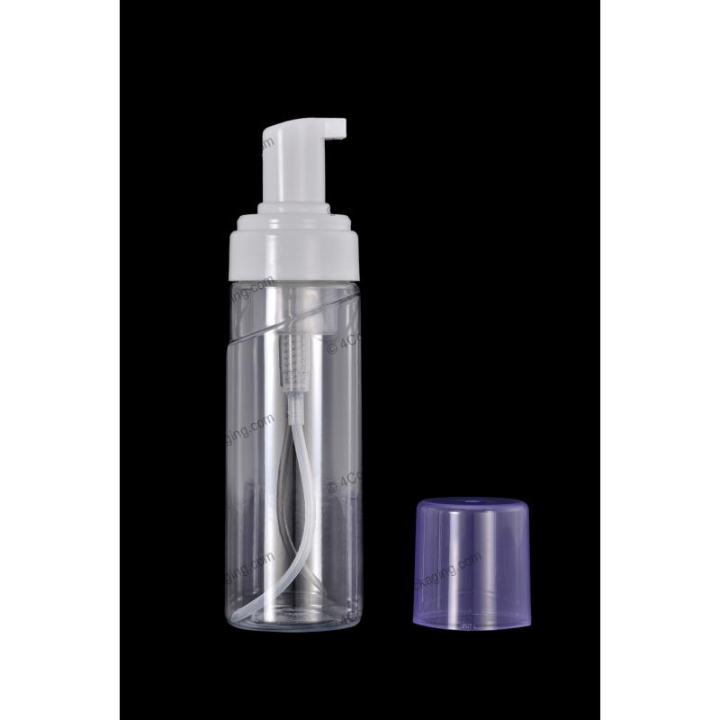 180ml 6oz Plastic Pet Bottle 43 410 Neck With Foam Pump