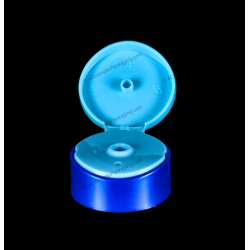 50mm Round Bi-Injection Flip Top Cap