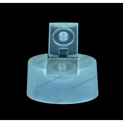 Oval Matte Flip Top Cap for Bottle Packaging