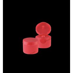 24/410 Ribbed Flip Top Cap