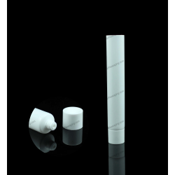 13mm Plastic Round Tube with Screw On Cap