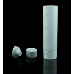 "19mm (3/4"") Plastic Round Tube with Screw On Cap"