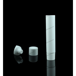 "16mm (5/8"") Plastic Round Tube with Screw On Cap"