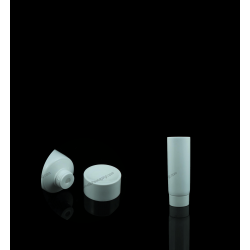 "30mm (1 3/16"") Plastic Round Tube with Screw On Cap"
