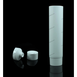 "35mm (1 3/8"") Plastic Round Tube with Screw On Cap"