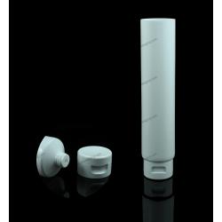 """35mm (1 3/8"""") Plastic Round Tube with Flip Top Cap"""