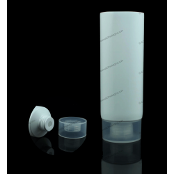 "45mm (1 3/4"") Plastic Round Tube with Screw On Cap"