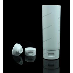 """45mm (1 3/4"""") Plastic Round Tube with Flip Top Cap"""