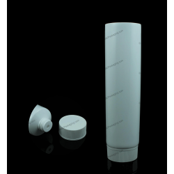 "50mm (2"") Plastic Round Tube with Ribbed Screw On Cap"