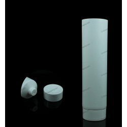 "55mm (2 3/16"") Plastic Round Tube with Screw On Cap"