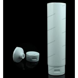 """60mm (2 3/8"""") Plastic Round Tube with Flip Top Cap"""