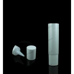 "38mm (1 1/2"") Plastic Round Tube with Mirror Cap"
