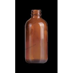 8oz Amber Glass Bottle