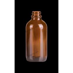 4oz Amber Glass Bottle