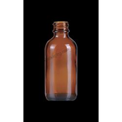 2oz Amber Glass Bottle