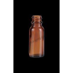 1/2oz Amber Glass Bottle