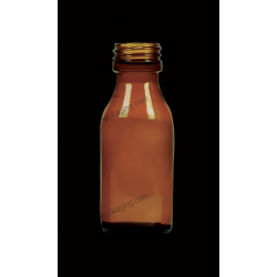 60ml Amber Glass Bottle for Syrups
