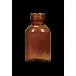 60ml Syrups Amber Glass Bottle
