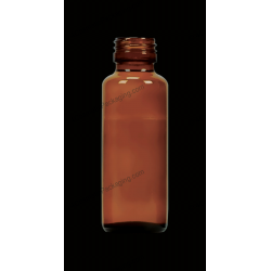 90ml Amber Glass Bottle for Syrups