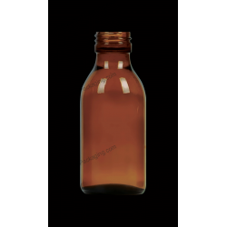 100ml Amber Glass Bottle for Syrups