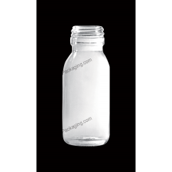 60ml Clear Glass Bottle for Syrup