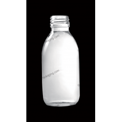 150ml Clear Glass Bottle for Syrup