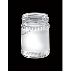 100ml Food & Juice Clear Glass Bottle