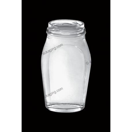 100ml Food & Juice Clear Glass Bottle