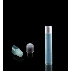 "19mm (3/4"") Dome Tip Plastic Tube with Square Cap"