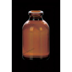 20ml Amber Glass Bottle for Antibiotics