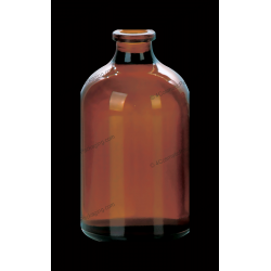 50ml Amber Glass Bottle for Antibiotics