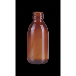 125ml Syrup Amber Glass Bottle