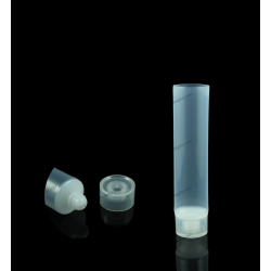 "25mm (1"") Dome Tip Plastic Tube with Square Stand Up Cap"