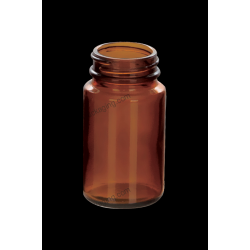 75ml Amber Glass Bottle for Tablet