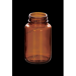 100ml Amber Glass Bottle for Tablet