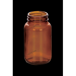 150ml Amber Glass Bottle for Tablet