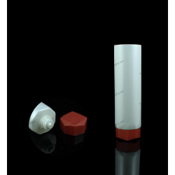 "40mm (1 9/16"") Polygon Plastic Tube with Octagon Cap"