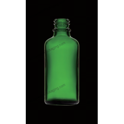 100ml Green Glass Bottle