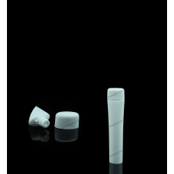 13mm Plastic Oval Tube with Screw On Cap