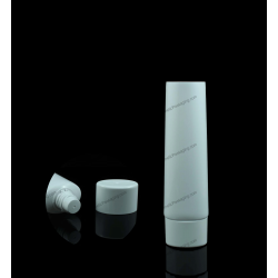 """30mm (1 3/16"""") Plastic Oval Tube with Oval Screw Cap"""