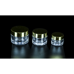 15g 30g 50g 100g PETG Jar for Cosmetic Packaging