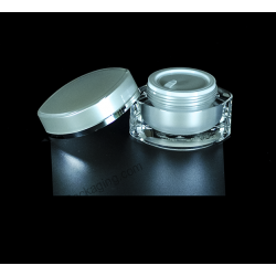 15g 30g 50g Acrylic Jar for Cosmetic Cream Packaging