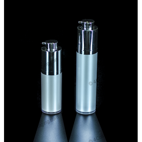 15ml 30ml 50ml 100ml Airless Plastic Bottle for Cosmetic Packaging