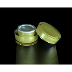 15g 30g 50g Slanted Acrylic Jar for Cosmetics Cream Packaging