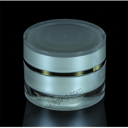 5g 30g 50g 100g Cylinder Acrylic Jar for Cosmetic Packaging